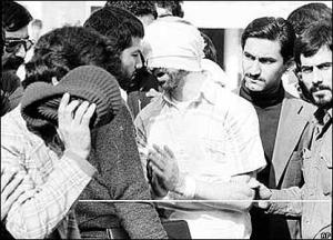 Hostage paraded in Tehran