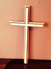 saeed made wooden cross