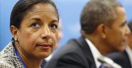 Susan Rice with obama no time for false controversies Benghazi