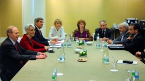 iranTalkers around the table