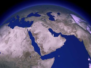 middle-east-satellite-view