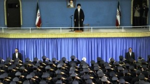 Ayatollah addresses iran-military