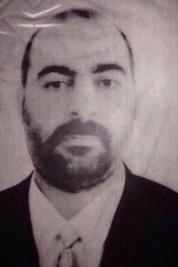 ISIS commdr Abu Bakr al Baghdadi AP