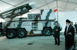 ira khameini inspects missiles