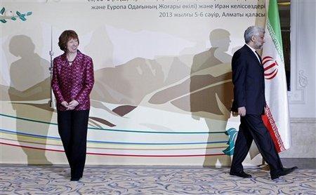 Saeed Jalili, Catherine Ashton