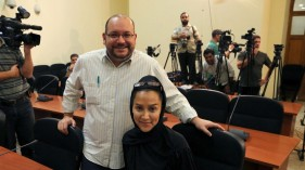 American reporter Jason Rrezaian and wife Yeganeh Salehi detained in Iran since July 2014.