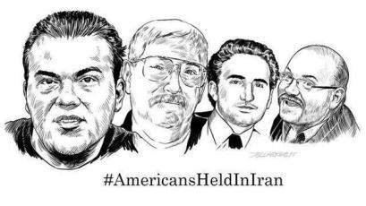 4 AMERICANS HELD IN IRAN SKETCH